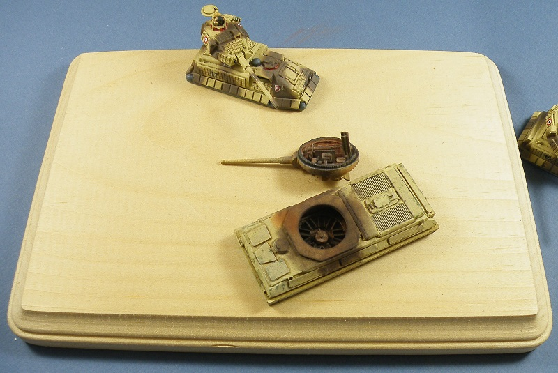 Building a 15 mm Desert Diorama