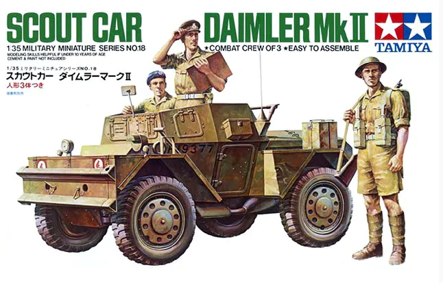 WW II BRITISH ARMOURED CAR CREW to DAIMLER, AEC, STAGHOUND, HUMBER 1//35 MINIART